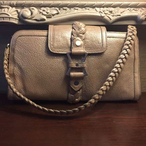 Junior Drake evening bag Junior Drake evening bag!  Integrated wallet. Two small blemishes (pictured).  NO TRADES. Please ask all questions before purchasing! Junior Drake Bags