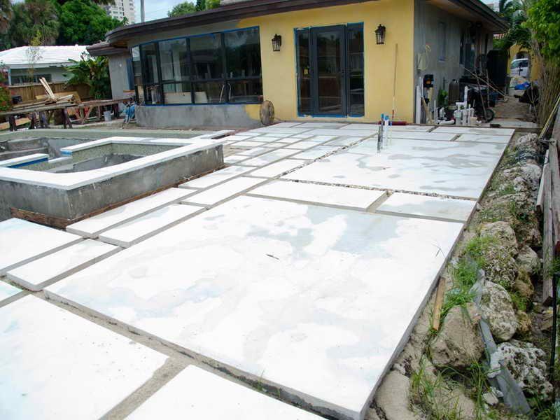Giant Concrete Pavers Google Search Pavers Backyard Large
