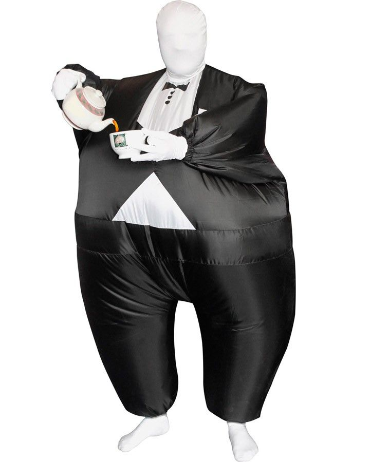Tuxedo Value Morphsuit Mens Costume