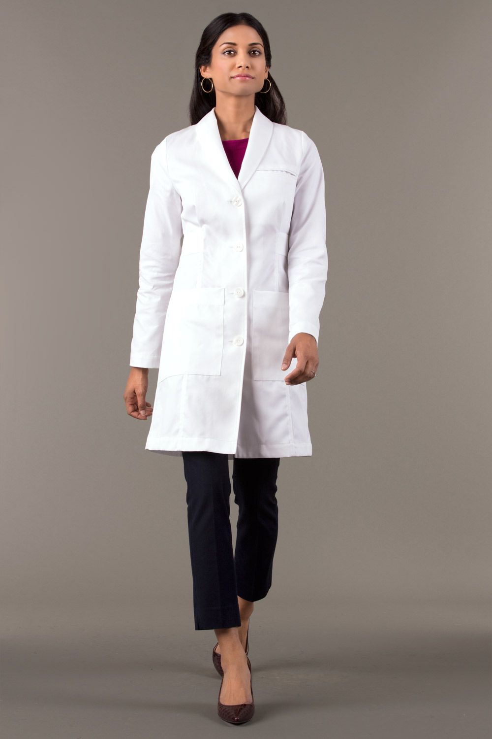 76b7cb17f84 M3 Emma W. Classic Fit Lab Coat | Nurse Practitioner work/clinical ...