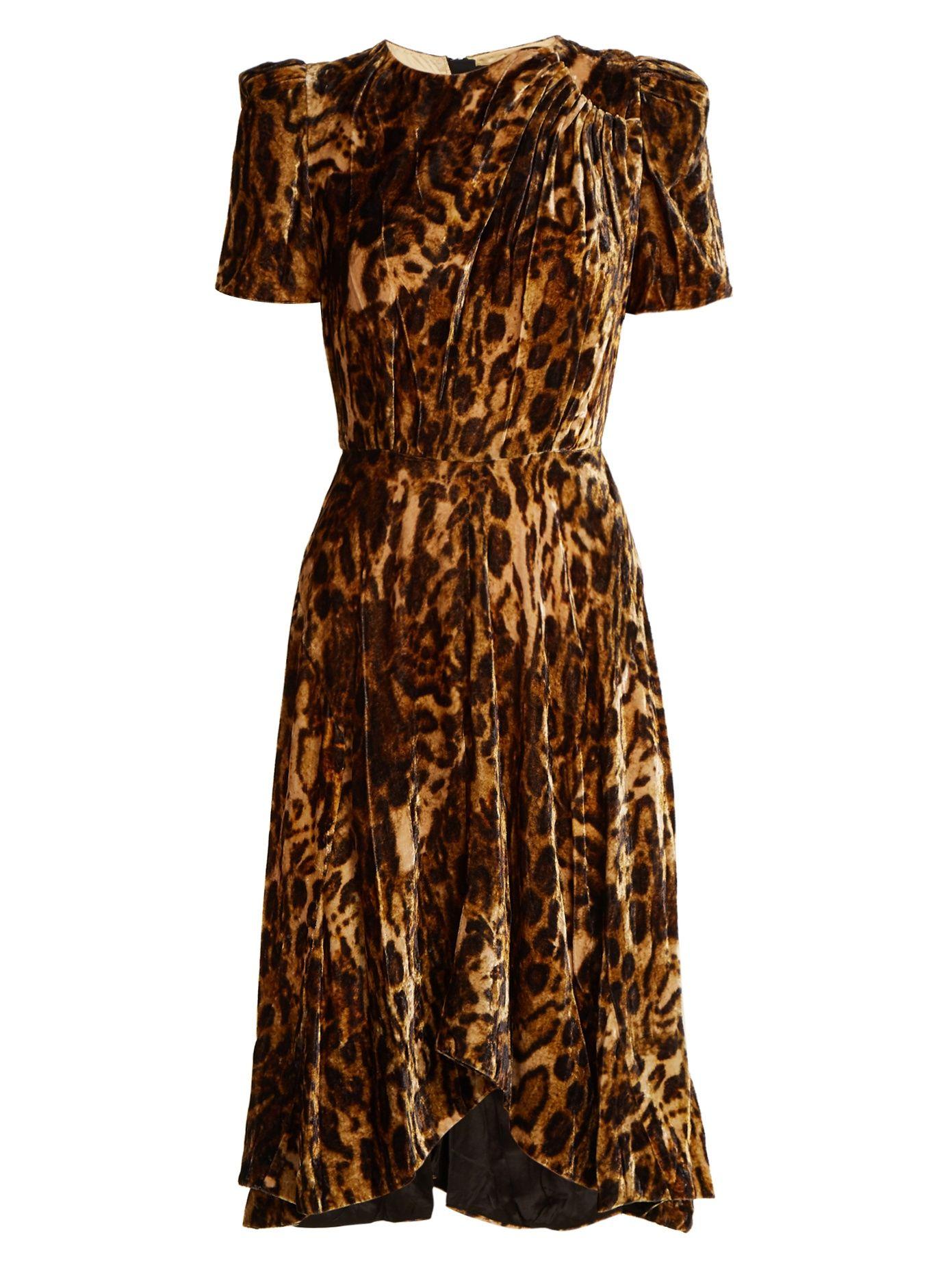 3916a7764efe Isabel Marant's Tonal-Brown Velvet Ulia Dress BUY @ weselsectdresses.com  £641