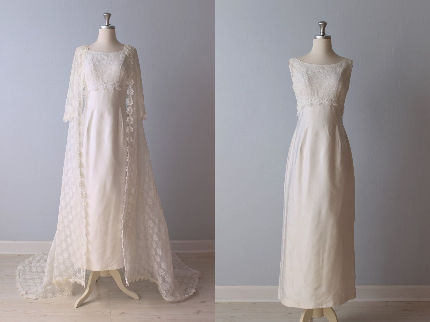 Vintage wedding dresses from the vintage mistress for Romantic vintage lace wedding dresses
