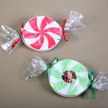 bulk christmas craft candy swirl ornaments at dollartreecom