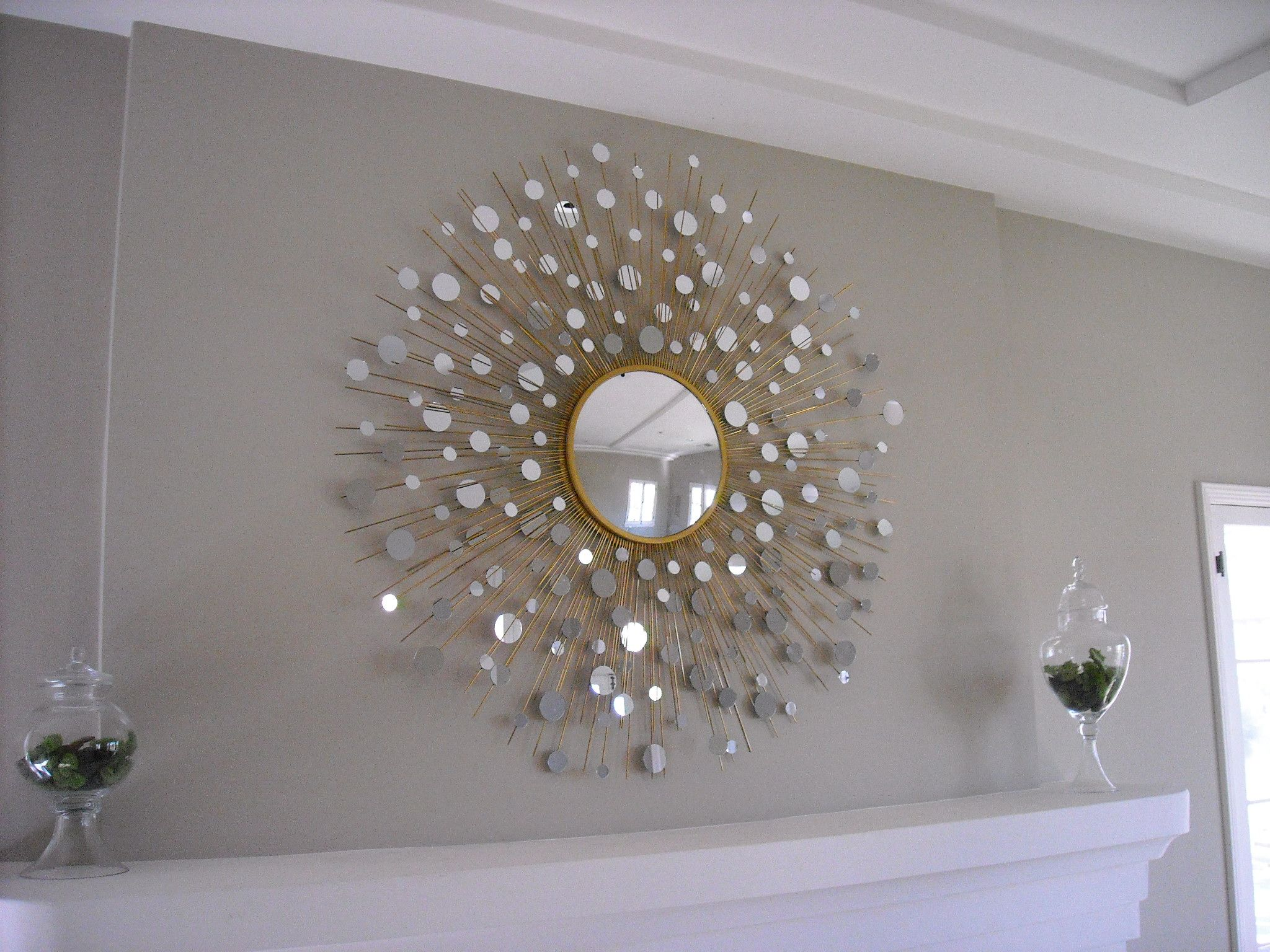Sunburst Wall Mirror related posts:how to paint a bedroom with starburst wall