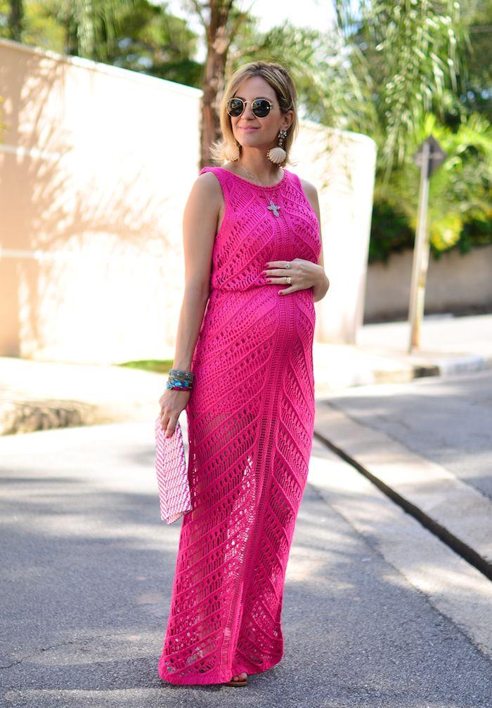 summer - dress - look gravida - lili paiva - pink - keep a secret ...