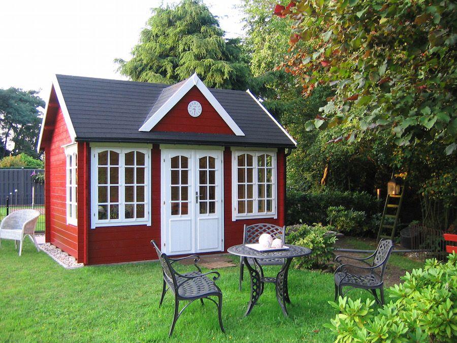 Pro und Contra Gartenhaus Wintergarten einrichten