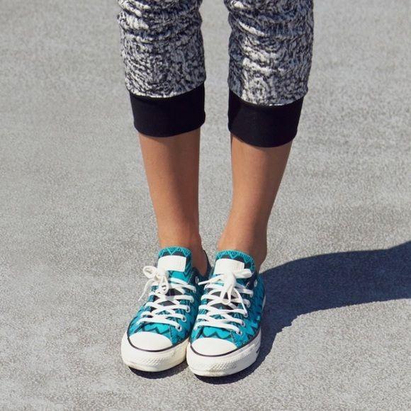 Missoni for Converse Chucks teal black Chevron 10 Never worn new in box. Women's size 10, men's size 8. Missoni converse Shoes Sneakers