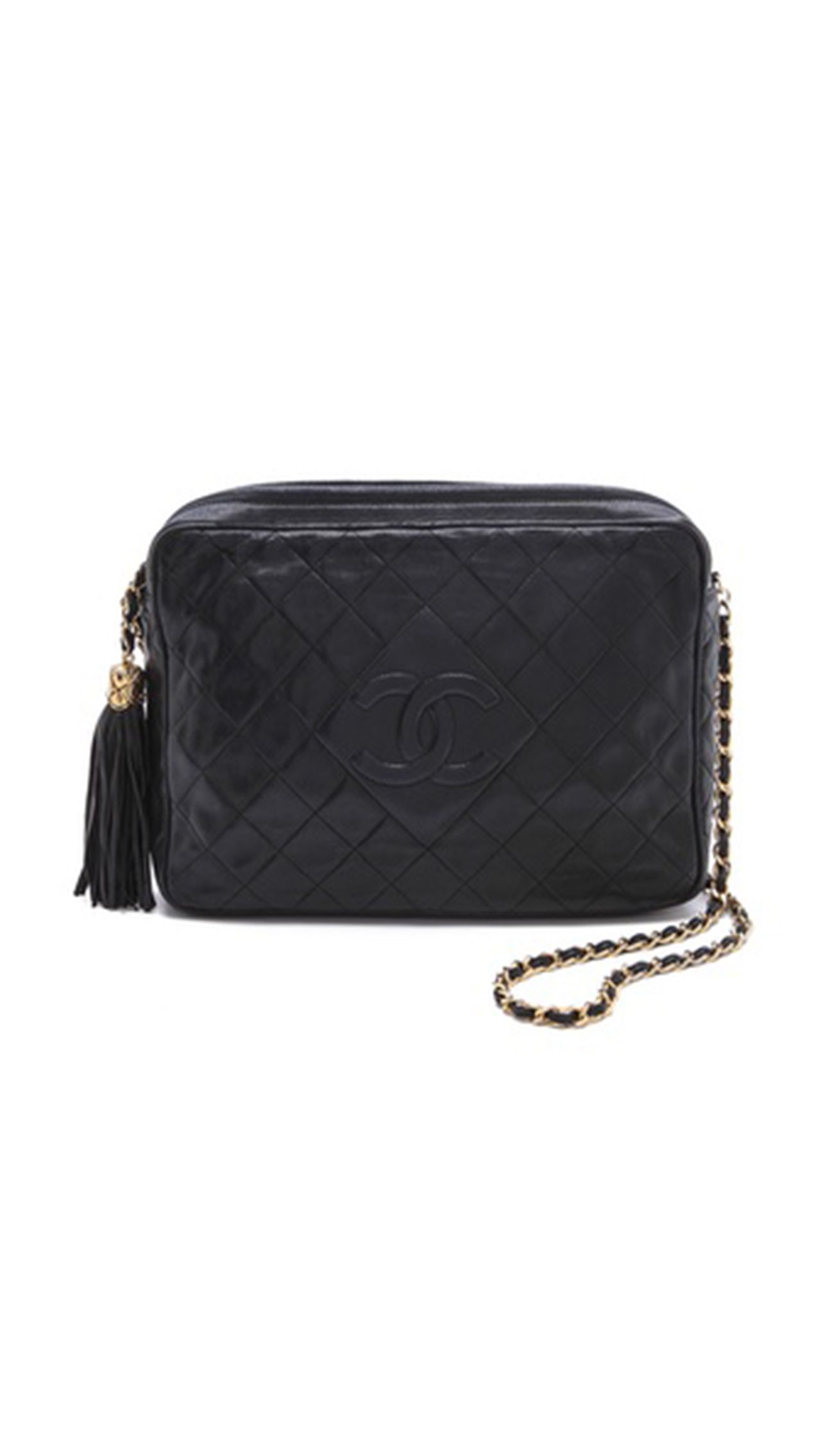 c34ef85c8e92 Vintage Chanel Camera Bag: Fall Trend We Love: Quilted Leather. ModaMob  Fashion and Style Lookbooks.