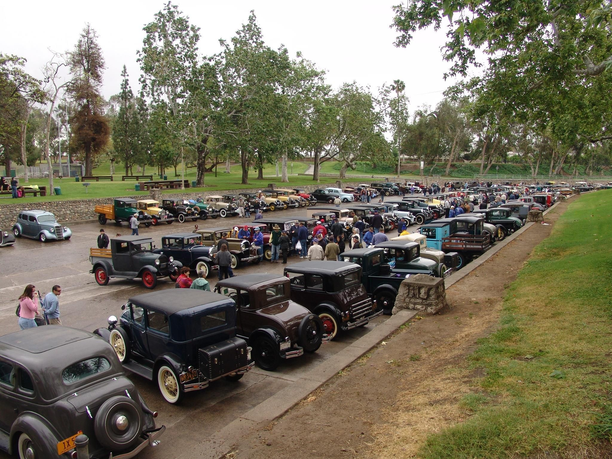 This photo is from a Car Show in Hart Park, Orange, CA and was taken ...