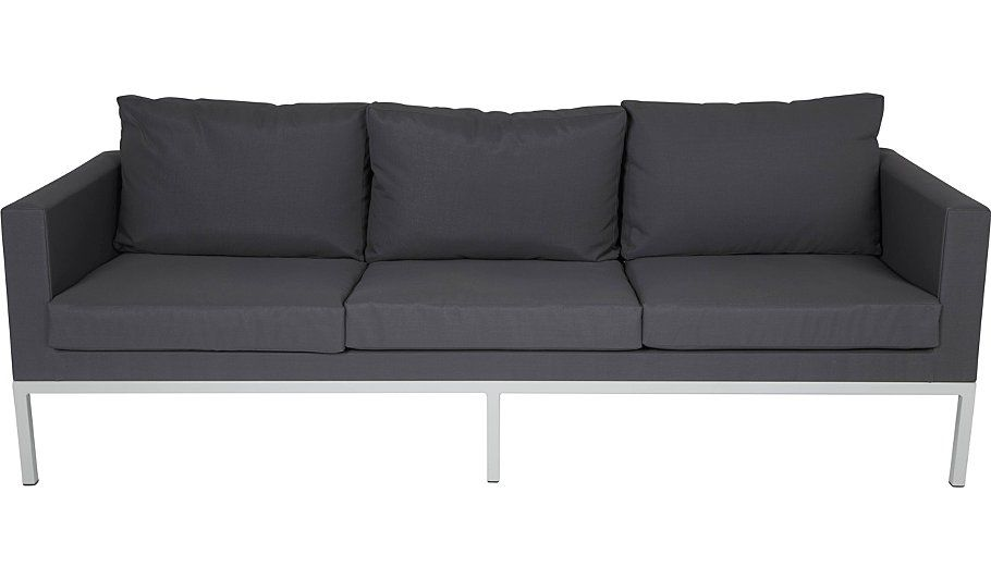 Buy Manhattan Cool 3 Seat Sofa - Grey & White from our Conservatory ...