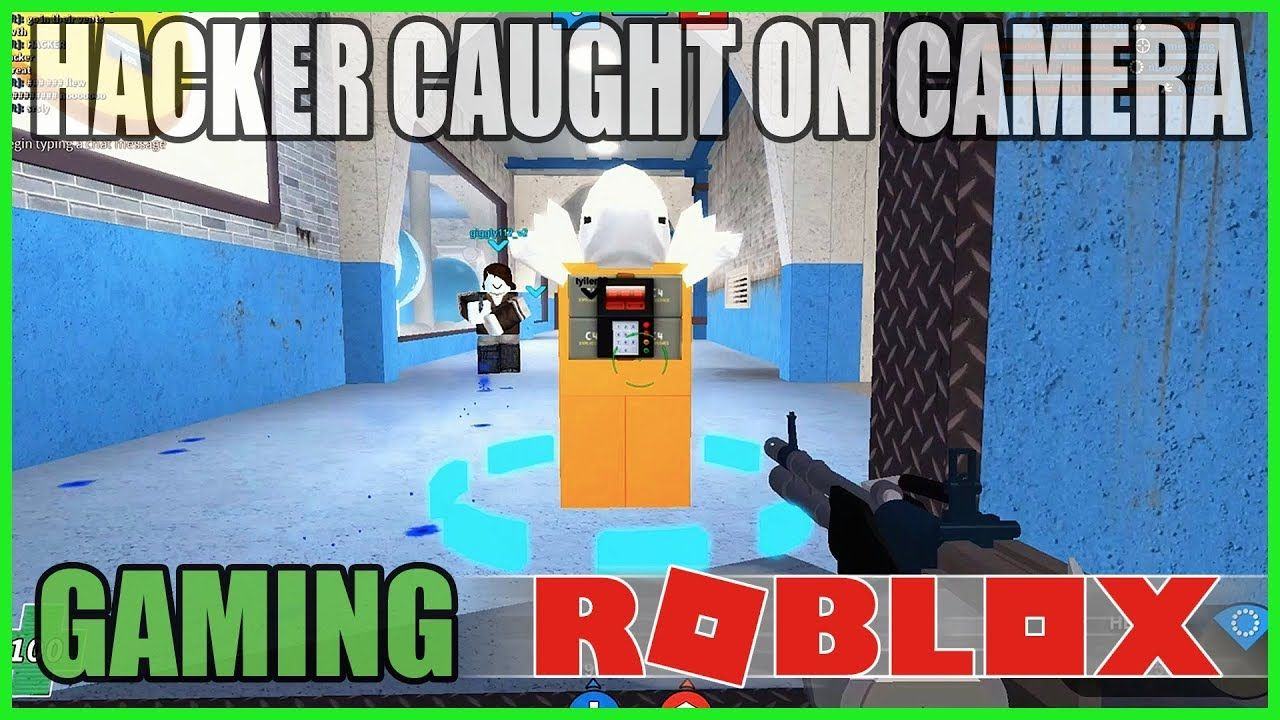 Roblox Hacker Caught On Camera Mad Paintball 2 Capture The