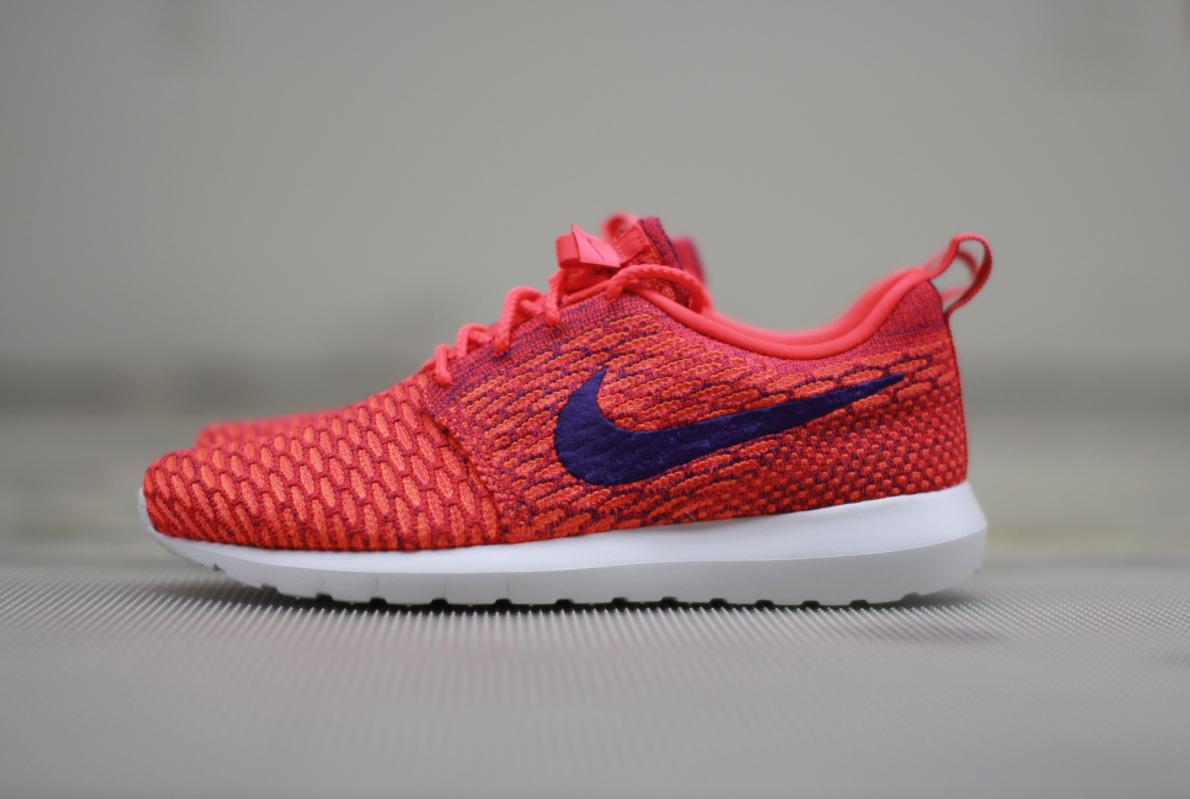 d71fe3619800 Another Spring Option  Nike Flyknit Roshe Run – Bright Crimson   Total  Orange