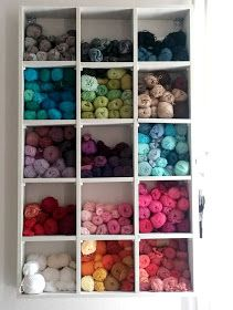 Little Treasures: Yarn storage rearranged