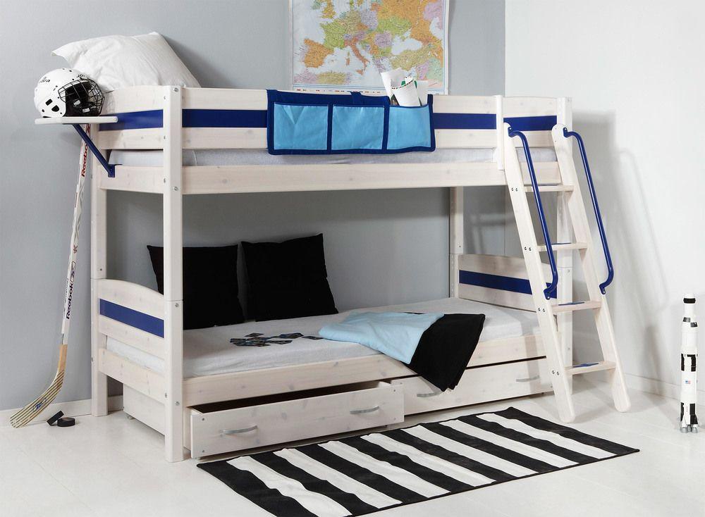 Etagenbett Thuka : Thuka trendy 24 bunk bed with under drawers chambre loulou