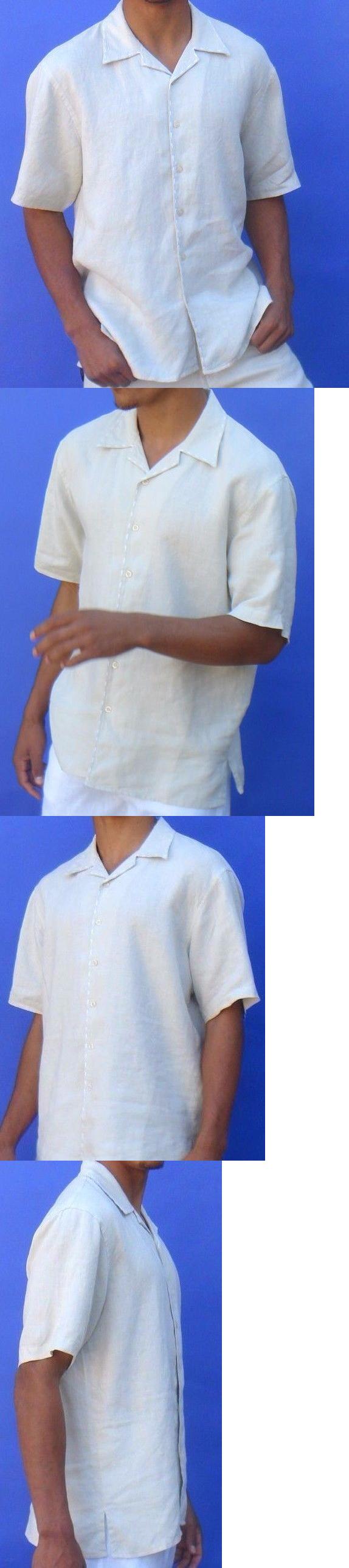 Other mens formal occasion beach weddings linen shirt