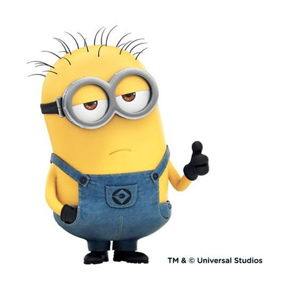Despicable Me Movie Minion Bob Figure Saying I/'m Happy Refrigerator Magnet NEW