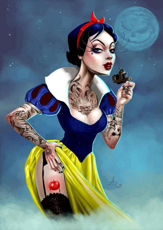Artist andre rodrigues dark disneydisney