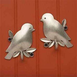 Festa, Sabor & Decoração: Decorar com pássaros