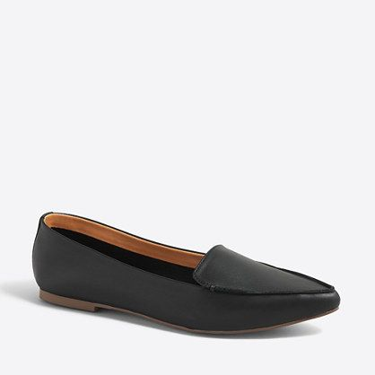8e63658fcd0b EDIE LEATHER LOAFERS J.Crew Factory https   api.shopstyle.com
