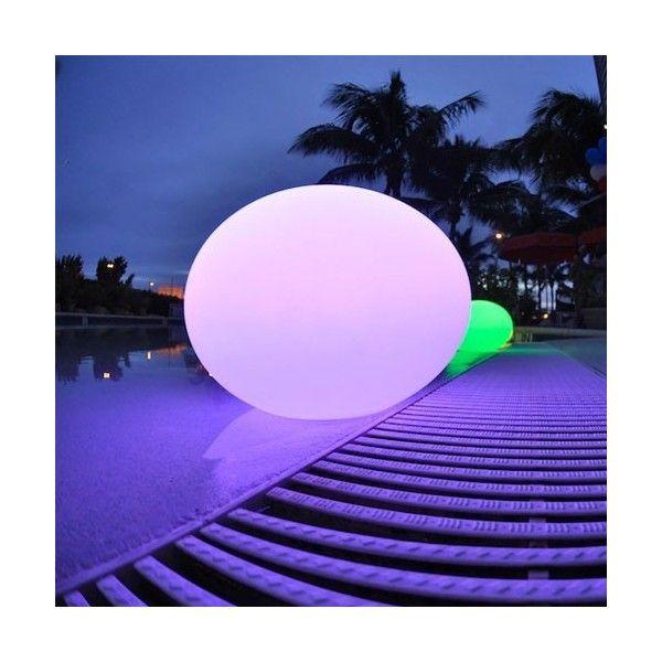 Flatball xl led outdoor indoor lamp by smart green outdoor lighting lightology