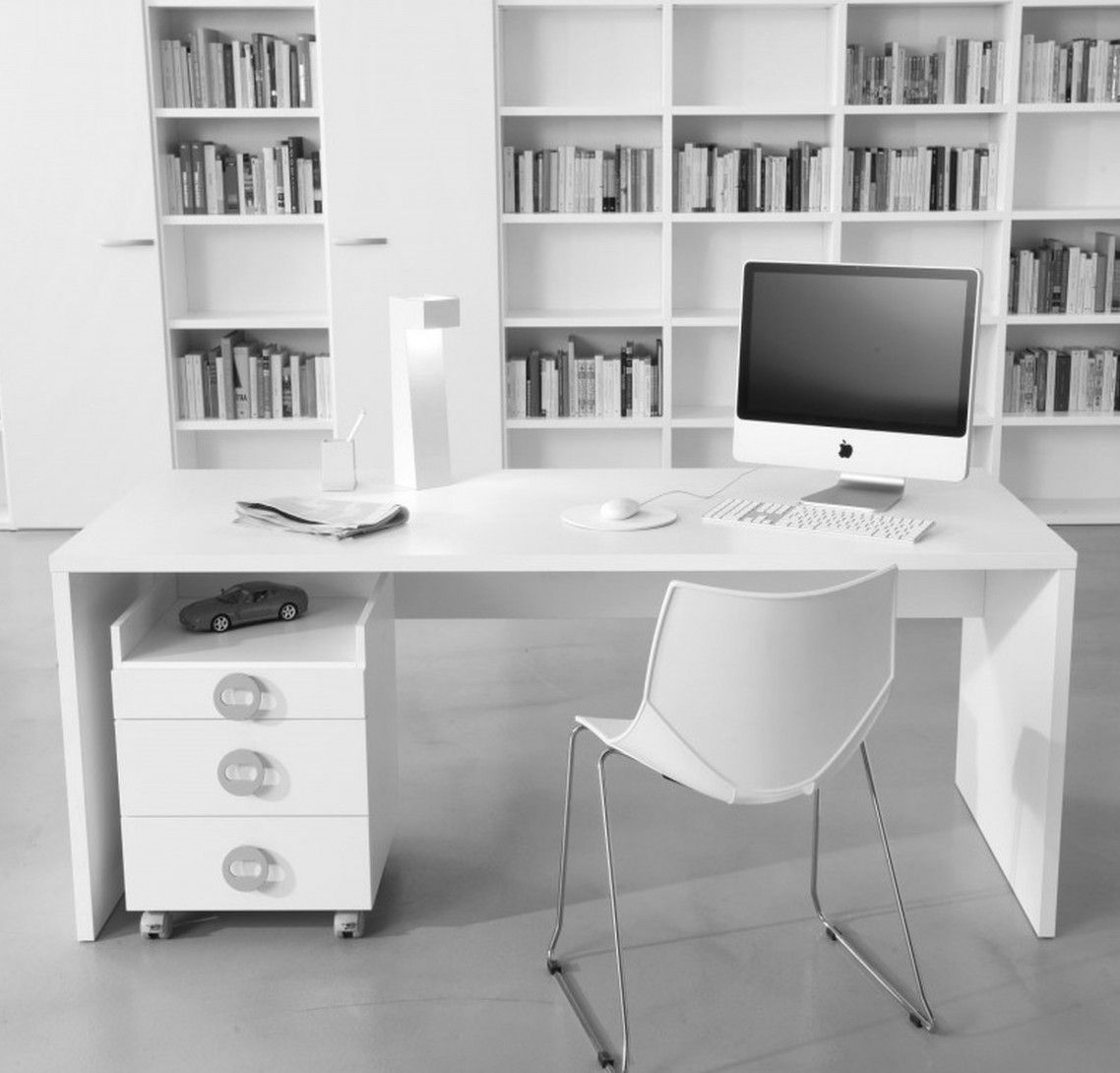 Office Interior Design Adorable Modern Home Office Character ...