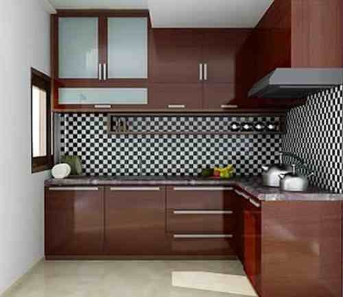 Dapur rumah sederhana for Design kitchen set minimalis
