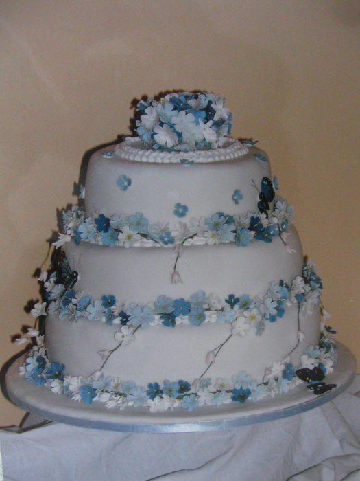 Forget Me Not Wedding Cake Jens Wedding Pinterest Forget me
