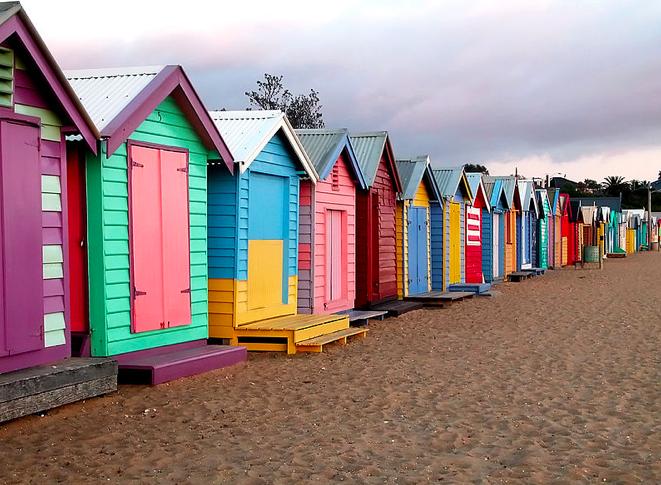 44+ Casetas de playa de colores ideas in 2021