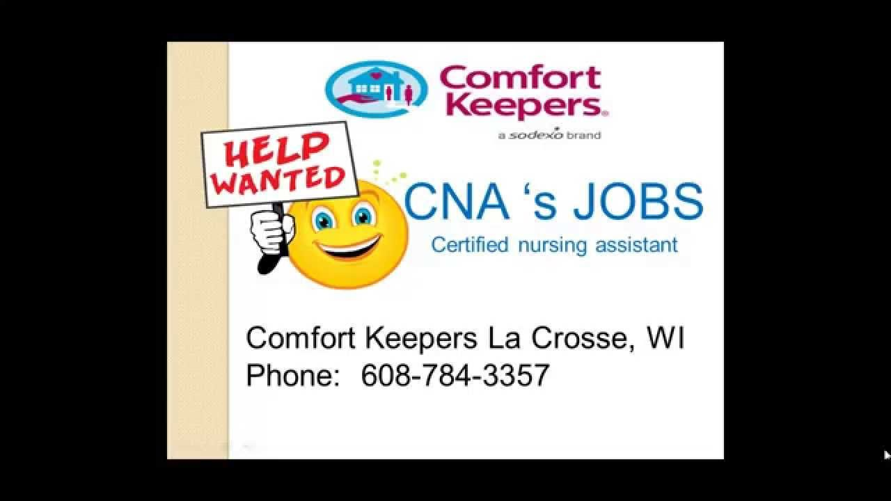 Cna jobs in la crosse wi comfort keepers la crosse pinterest cna jobs in la crosse wi xflitez Image collections