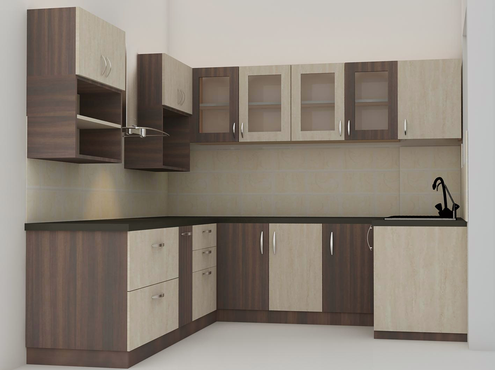 Modular Kitchen Manufacturers And Suppliers In Bangalore  Magnon Adorable Modular Kitchen L Shape Design Inspiration Design