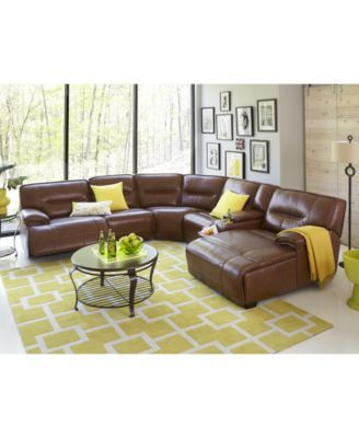 closeout beckett leather power reclining sectional sofa collection rh pinterest com