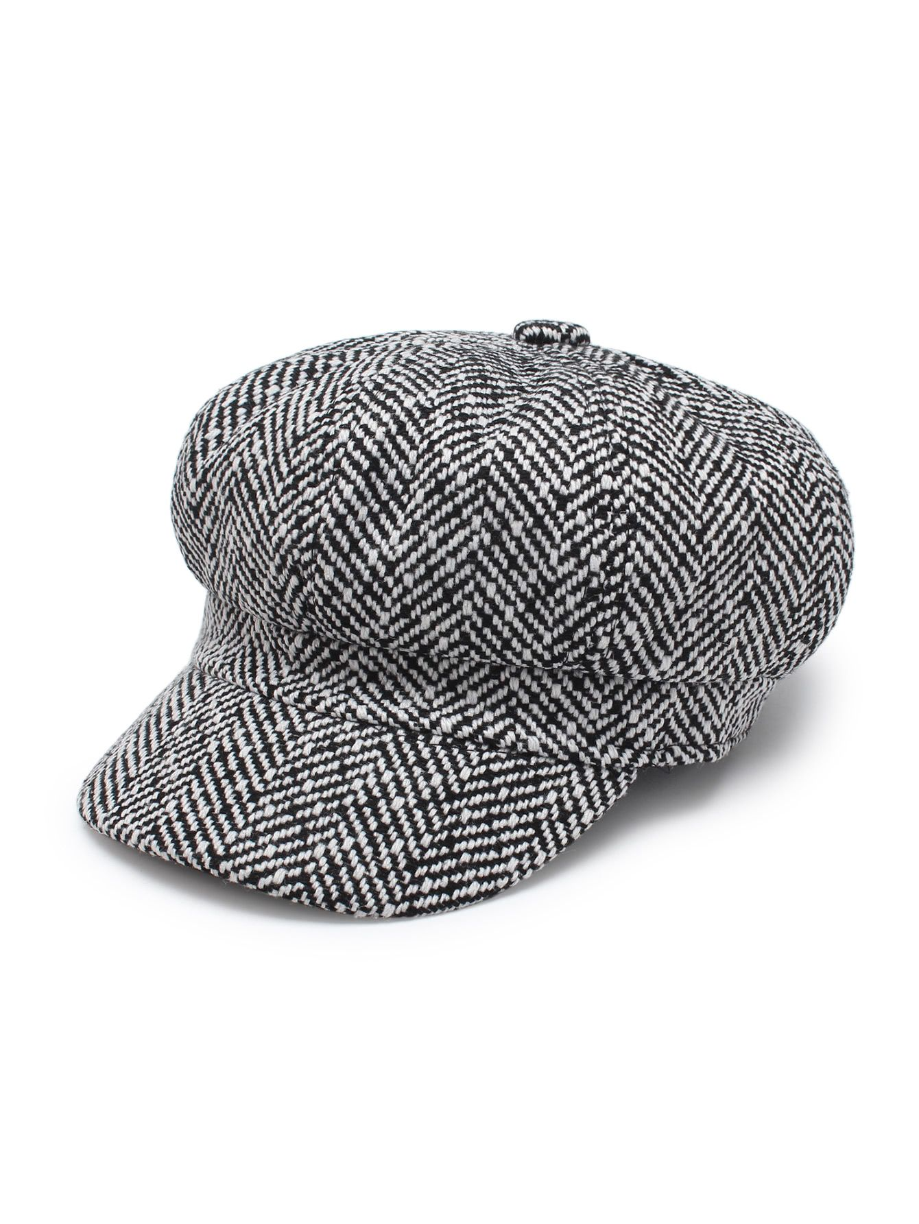 1795986c3a965 Shop Tweed Bakerboy Cap online. SheIn offers Tweed Bakerboy Cap   more to  fit your fashionable needs.