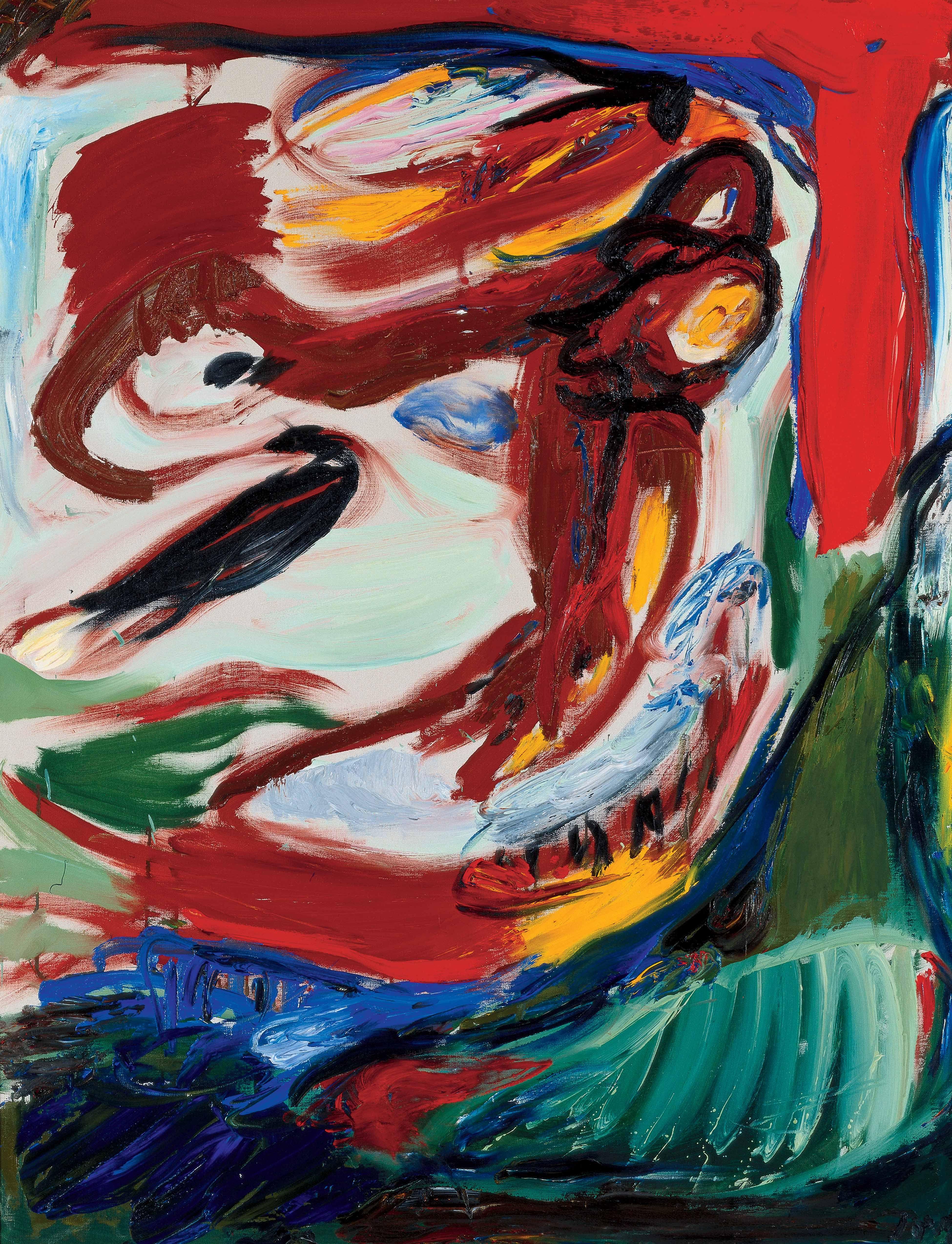 Asger Jorn | ART. | Kunstnere, Malerier