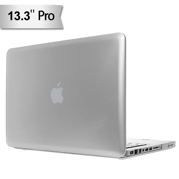 "Macbook Pro 13"" - Glinsende PC Hard Etui - Sølv"