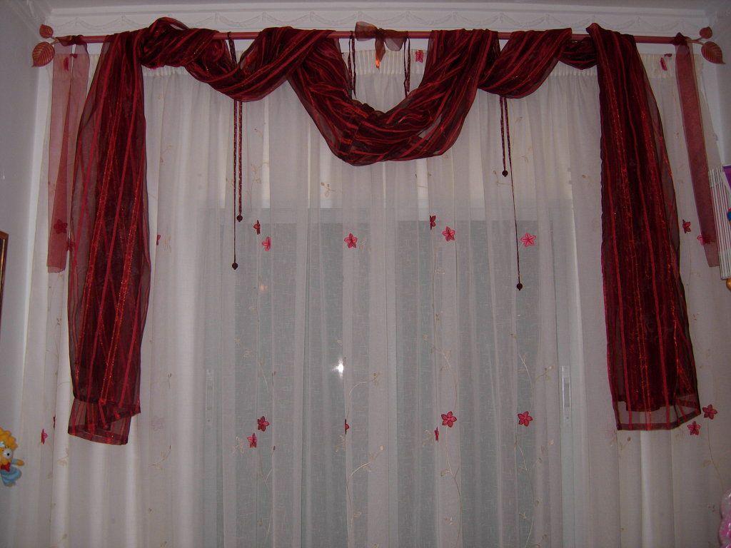Ocho cortinas diy f ciles baratas y preciosas for Cortinas blancas baratas