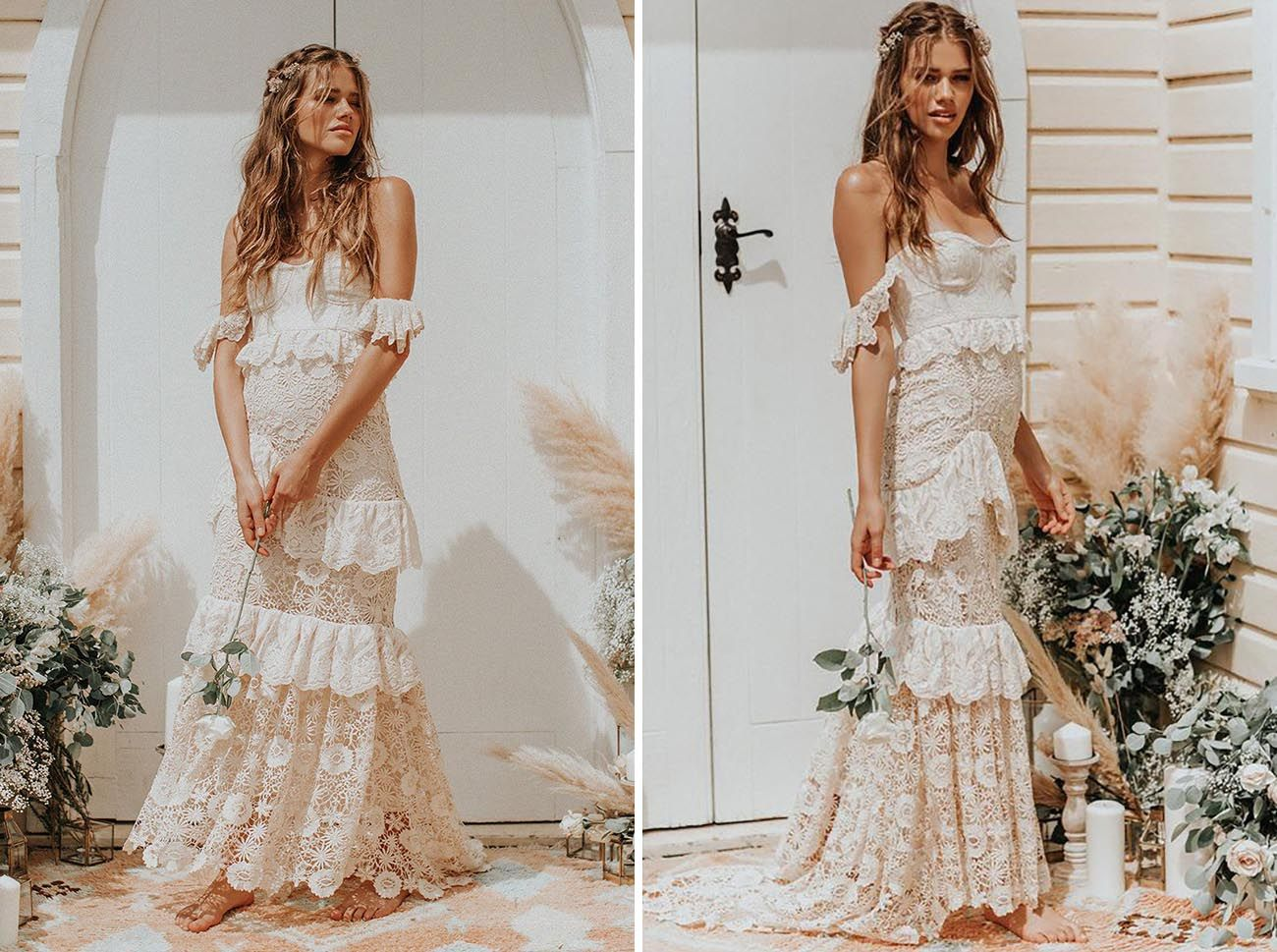 Surf sand wedding dresses for your laidback beach wedding