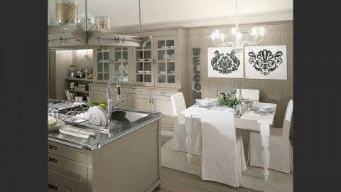 Nuova interpretazione dello stile inglese, la cucina English Mood ...