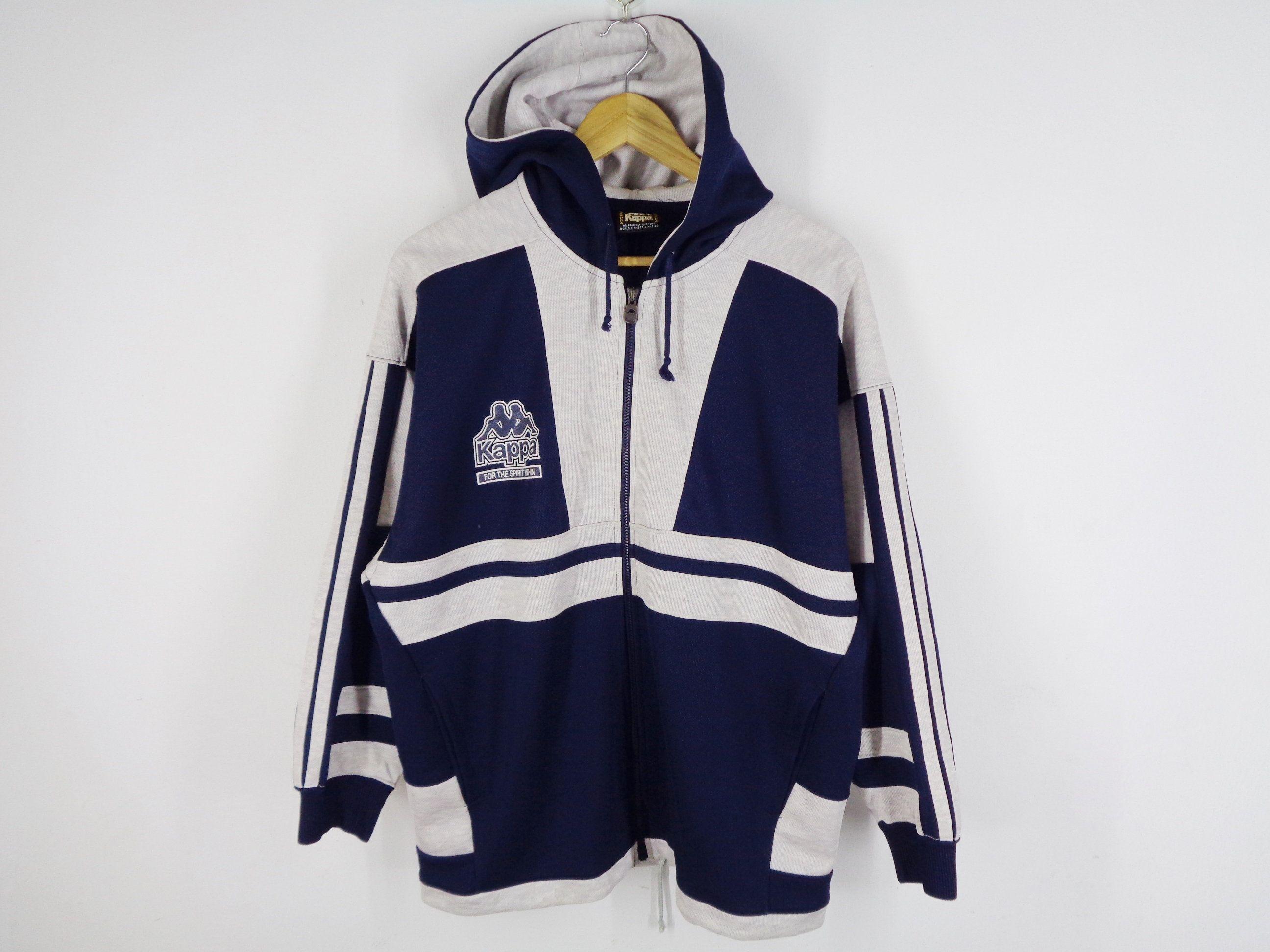 RARE!!! Vintage 90s KAPPA  Neon Tracksuit Jacket \u2022 Men Neon Green  Hi Vis  90s Track Jacket   Activewear \u2022  size Extra Large