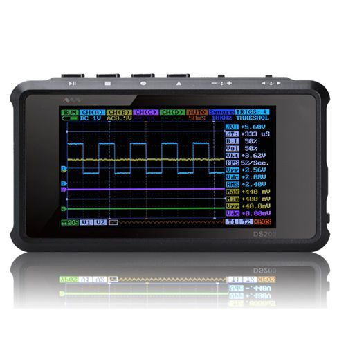 Nano ARM DSO203 Aluminum Handheld Scope Portable Storage Digital Oscilloscope B #Unbranded