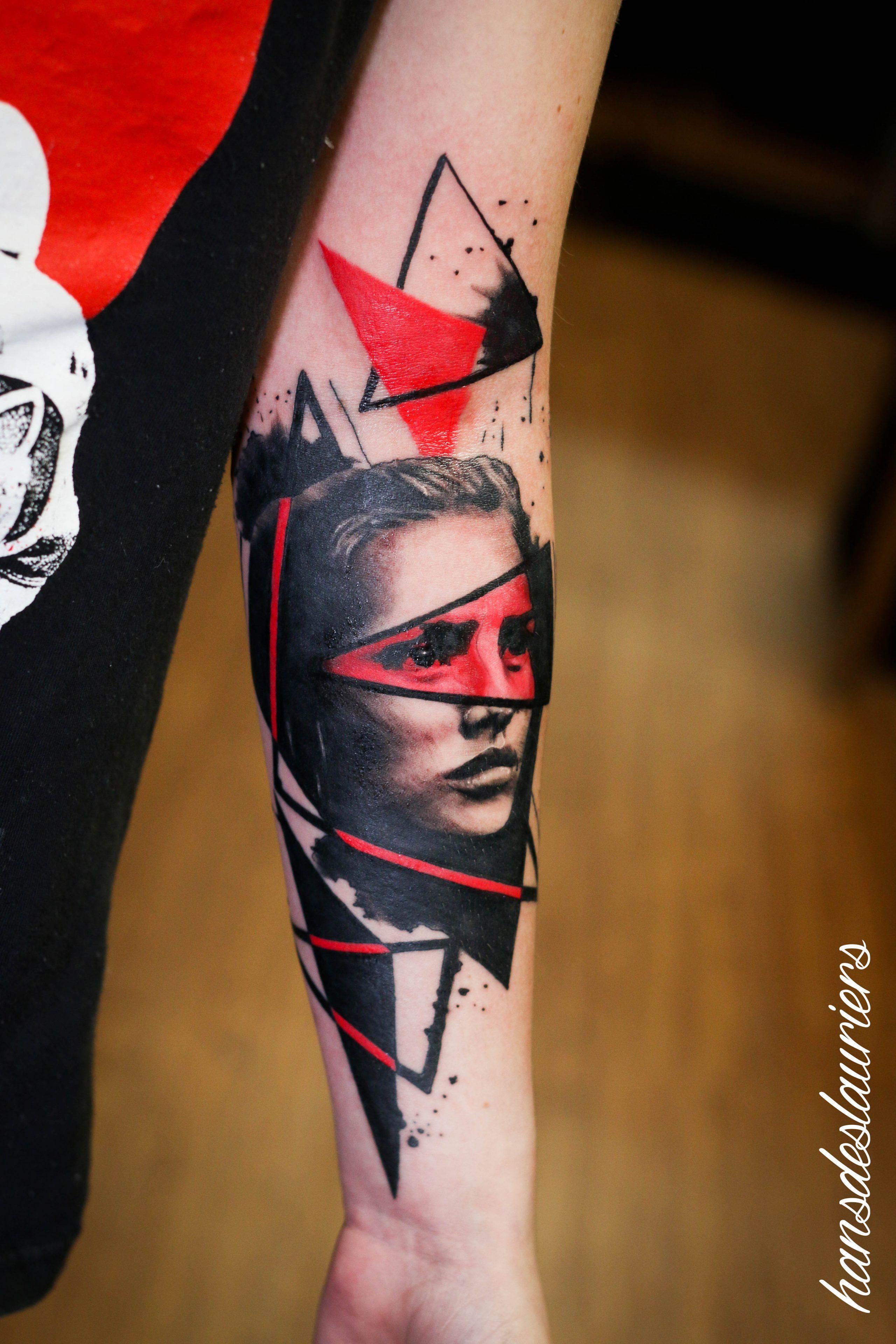 Hans Deslauriers Trash Polka Tattoo Cool Forearm Tattoos Tattoos