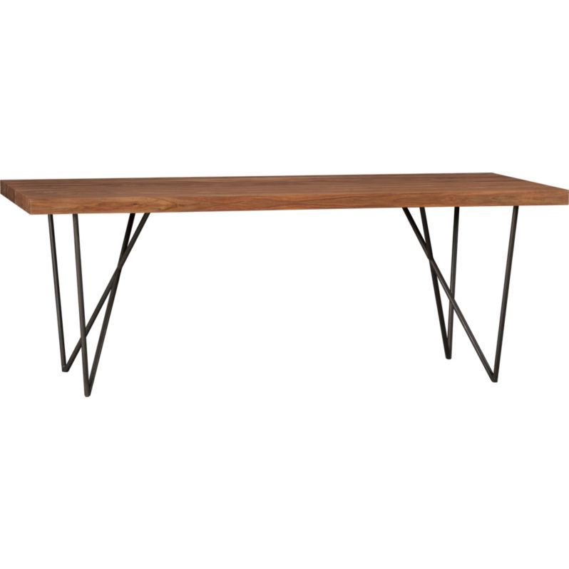 Dylan Dining Table Is Nice And Long, But Also Relatively Narrow. And Those  Hairpin Like Legs Keep It From Feeling Too Heavy. Add This To My Overpriced  ...