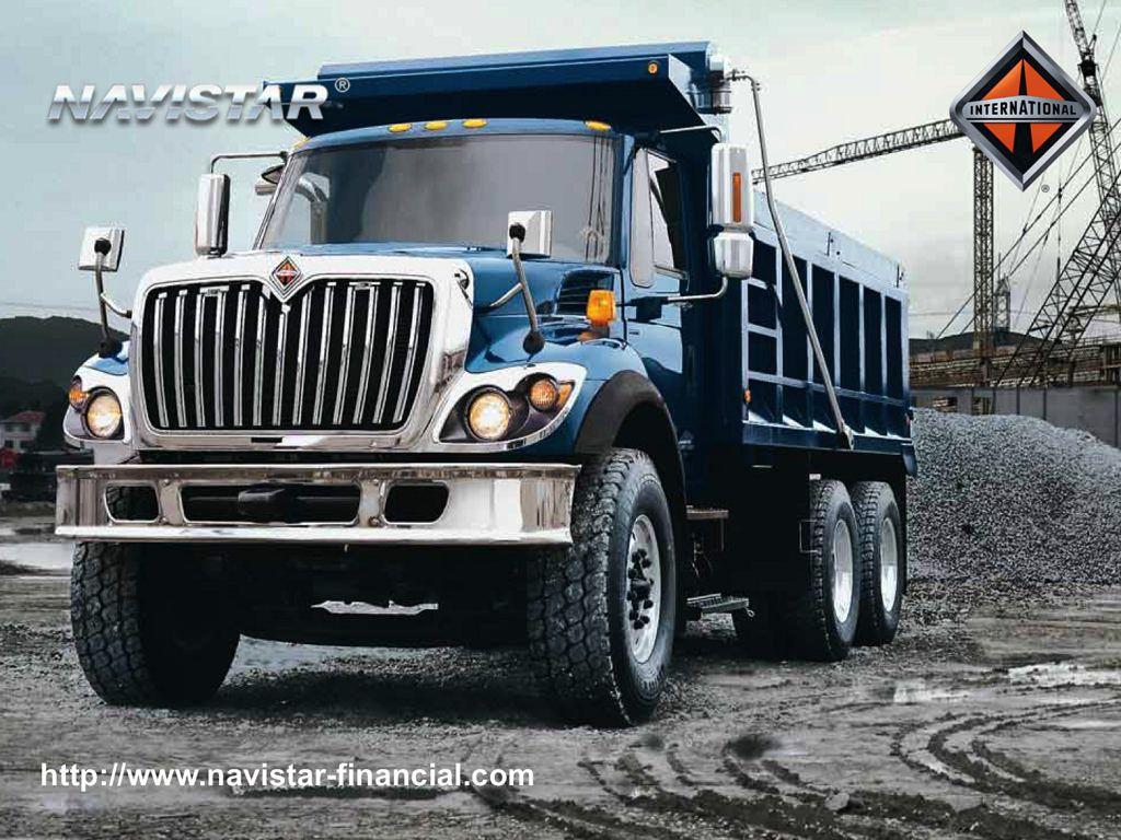 International Navistar Le Platica Lo Comodo Que Es Manejar Un Camion Workstar 5 International Truck Trucks Big Trucks