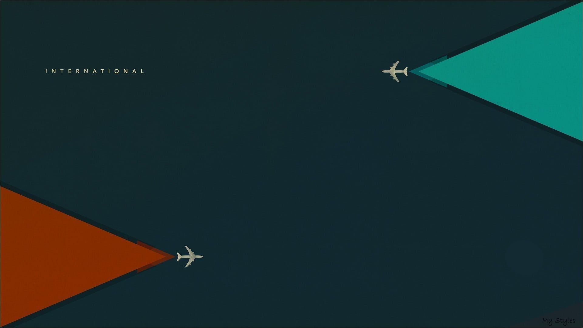 International plane illustration #vector #airplane #minimalism digital art #artwork #aircr- #aircraft #art #drawing