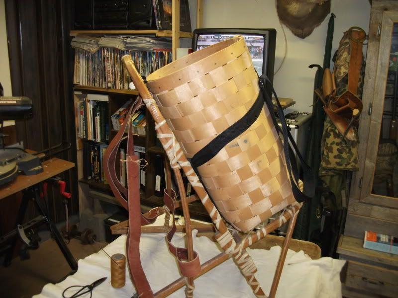 Wooden Pack Frame | cool old school stuff | Pinterest