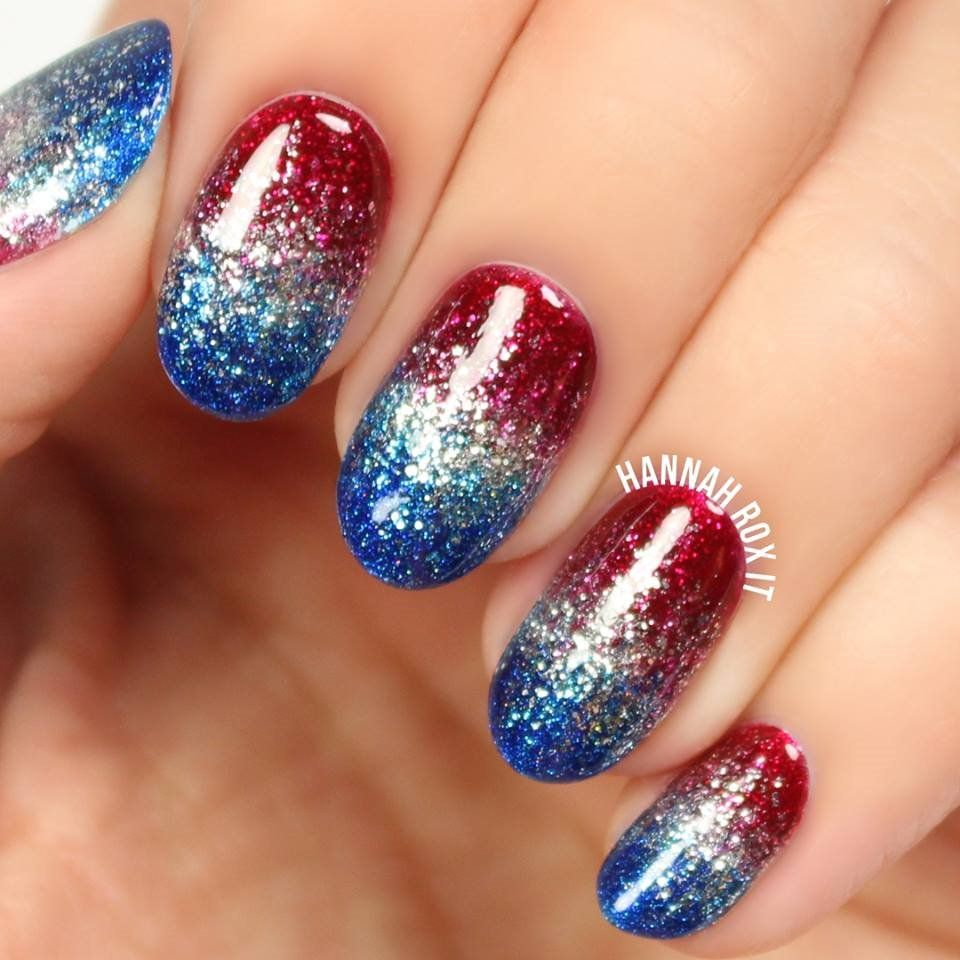 4th July Nail Art Designs Patriotic Spirit - 55 picture - nail4art ...