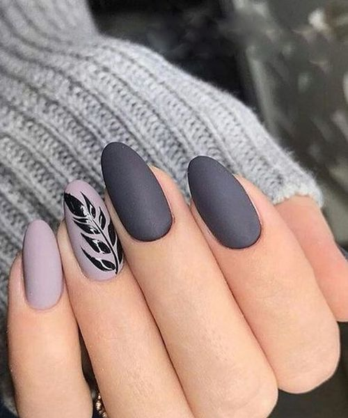 Cute Grey Nail Art Designs To Look Pretty On Parties Fashion With
