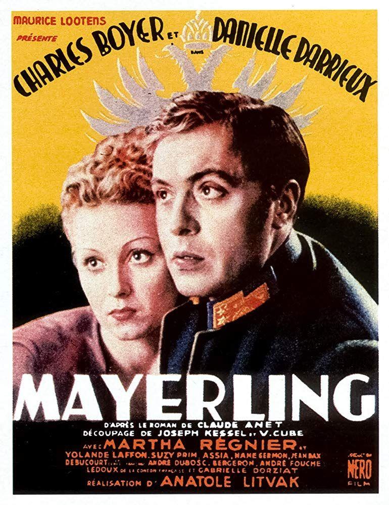 Mayerling 1936 Imdb Film Movie Posters French Films