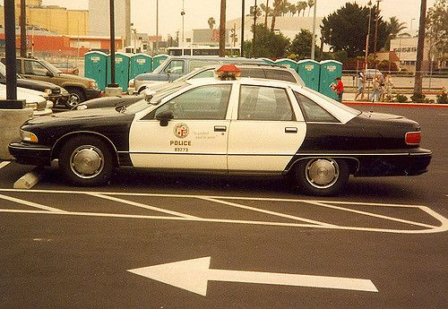 Lapd Caprice Police Cars Police Los Angeles Police Department