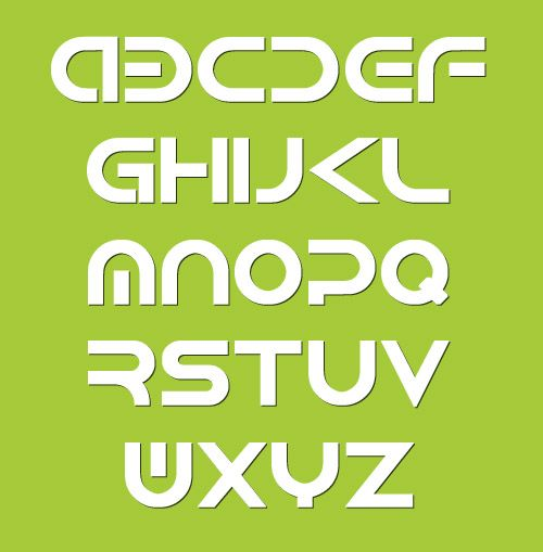 Android Fonts Letters #bestfonts2014 #topfonts2014