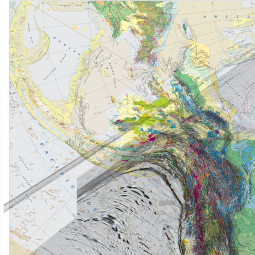 Geologic Map Of North America Google Earth Library Geology
